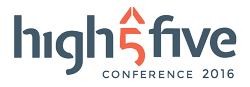 Logo High Five Conference 2016